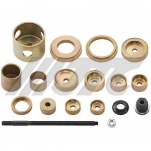 Набор инструментов для демонтажа/монтажа сайлентблоков нижнего рычага VAG (11 предметов)