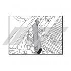Ключ для сливной пробки трансмиссии ATF (JLR) 6878 JTC