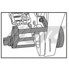 Инструмент для замены резиновой опоры трансмиссии BMW 6949 JTC