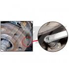 Приспособление для отжатия удерживающих пружин колодок ручного тормоза BENZ V-класс 6959 JTC