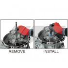 Приспособление для замены сальника трансмиссии FORD Fiesta DPS6 6979 JTC