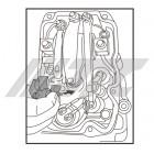 Приспособление для регулировки форсунок SCANIA (69,9 мм) 7886 JTC