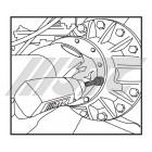 Набор головок для снятия болтов с фланца дифференциала VOLVO 7897 JTC