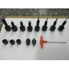 Гидравлический клепальный станок для тормозных колодок (8P101A JTC приобретается отдельно) 1517 JTC