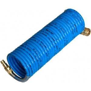 Шланг полиуретановый с быстросъемом 6,5*10мм 10м