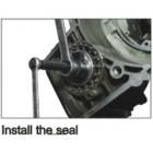 Приспособление для снятия/установки сальников фланца карданного вала VW, AUDI 1328 JTC