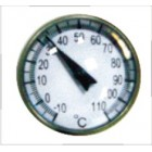 Термометр стрелочный от -10 до 110*С 4601 JTC